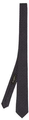 Etro Micro Paisley Jacquard Silk Tie - Mens - Multi