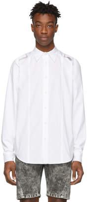 John Lawrence Sullivan Johnlawrencesullivan White Attached Sleeve Shirt
