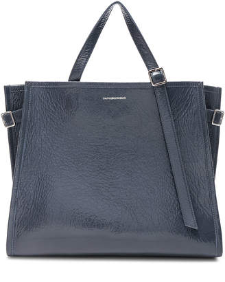 Calvin Klein East West Side Strap Tote