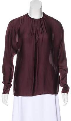 Ralph Lauren Silk Long Sleeve Blouse