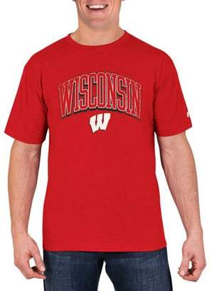 NCAA Wisconsin Badgers Men's Cotton/Poly Blend T-Shirt