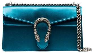 Gucci Blue Dionysus small satin shoulder bag