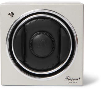 evo Rapport London Cube |8 Lacquered-Wood Automatic Watch Winder
