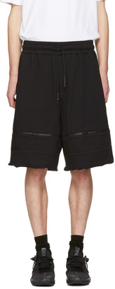 Y-3 Black M Trnsfrm Shorts $250 thestylecure.com