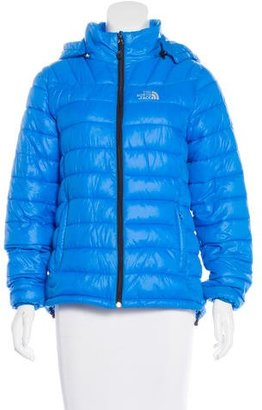 The North Face Hooded Puffer Jacket $90 thestylecure.com