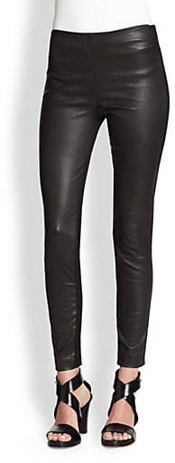 Catherine Malandrino Maximus Leather/Knit Pants