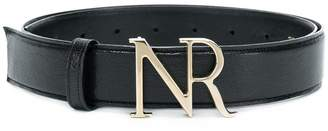 Nina Ricci branded buckle belt