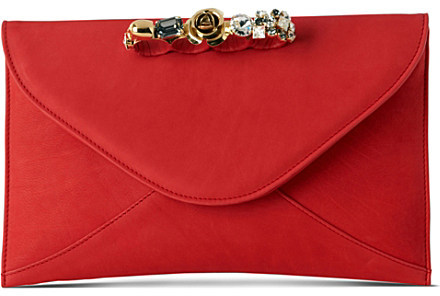 MAISON DU POSH Embellished clutch