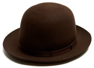 Borsalino - Alessandria Medium Brim Felt Hat - Mens - Brown