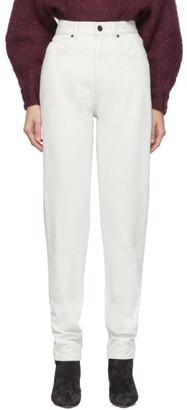Isabel Marant Off-White Dustin Jeans