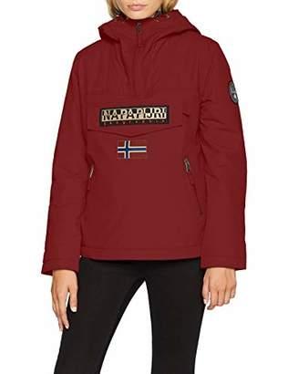 Napapijri Women's Rainforest Pocket Jacket (Red Bourgogne R69)