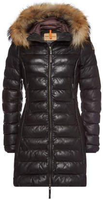 Parajumpers Demi Leather Parka