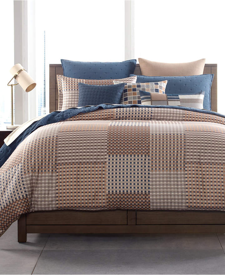 Patchwork King Duvet Cover, Created for Macy's Bedding