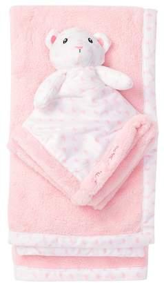 Betsey Johnson Plush Snuggle Toy & Blankie Set