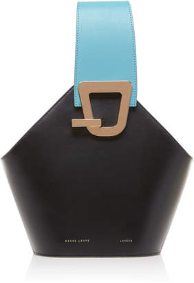 Danse Lente Exclusive Johnny Mini Two-Tone Leather Bucket Bag