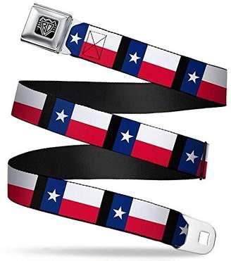 Buckle-Down Unisex-Adults Seatbelt Belt Texas XL