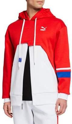 Puma Men's x Ader Colorblock Zip-Front Hoodie