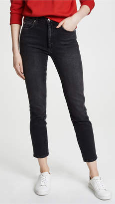 Amo High Rise Stix Crop Jeans