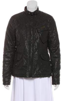 Hunter Quilted Long Sleeve Jacket