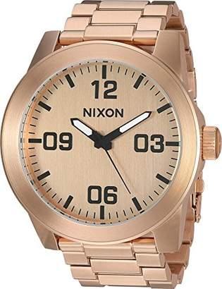 Nixon Men's 'Corporal SS' Quartz Stainless Steel Casual Watch