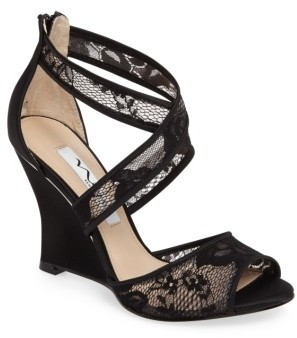 Women's Nina Elyana Strappy Wedge Sandal $108.95 thestylecure.com