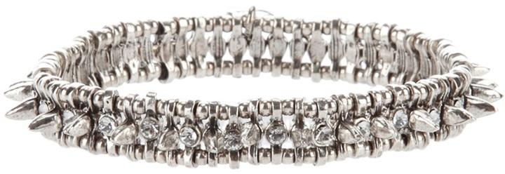 Philippe Audibert Narrow stud embellished bracelet