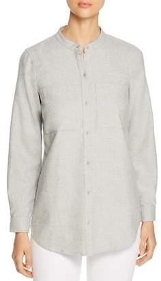 Eileen Fisher Organic-Cotton Flannel Shirt