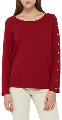 Gerard Darel Natty Button Detail T-Shirt
