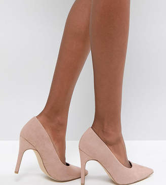 New Look Wide Fit Pointed Court