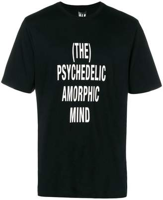 PAM slogan short-sleeve T-shirt
