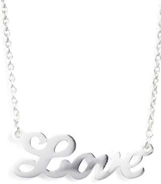 Argentovivo Love Pendant Necklace