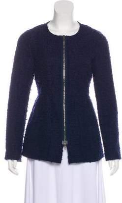 Lela Rose Wool Bouclé Jacket
