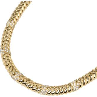 Bulgari Yellow gold necklace