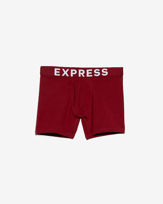 Express Solid Red Boxer Briefs