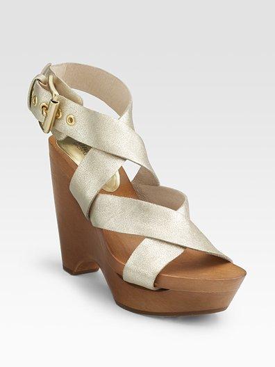 MICHAEL MICHAEL KORS Sycamore Wedge Sandals