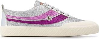 Bally Shennon lurex low-top sneakers