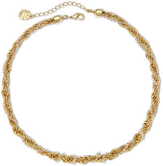 JCPenney MONET JEWELRY Monet Two-Tone Twisted Rope Necklace