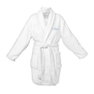 Cathy's Concepts CATHYS CONCEPTS Bride Plush Fleece Robe