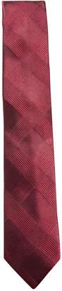Ryan Seacrest Distinction Men's Malta Plaid Slim Silk Tie, Created for Macy's