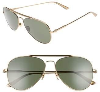 Calvin Klein 58mm Aviator Sunglasses