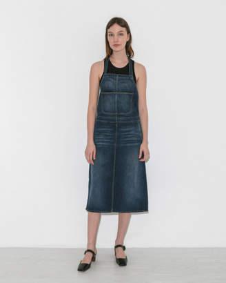 6397 Denim Apron Dress