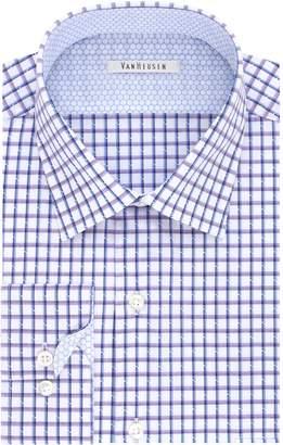Van Heusen Big & Tall Air Spread-Collar Dress Shirt