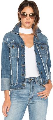 Joe's Jeans The Belize Denim Jacket in Blue $298 thestylecure.com