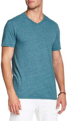Velvet by Graham & Spencer Heather Jersey Short Sleeve V-Neck Tee