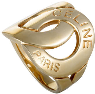 Celine Heritage  18K Yellow Gold Ring