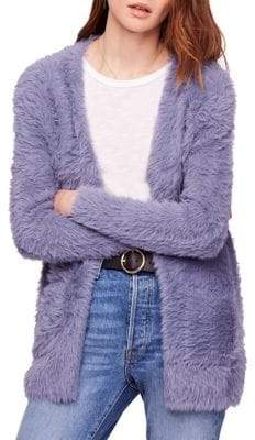 Free People Oversized Faux Fur Cardigan