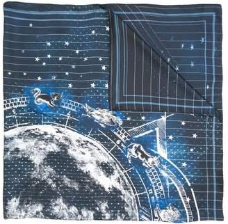 Balmain astrological print scarf