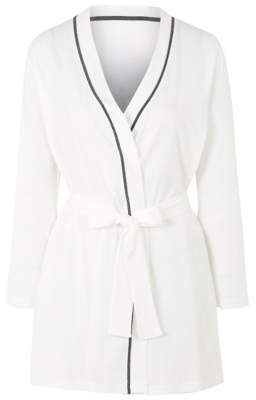 George Pure Cotton Sparkling Bride Dressing Gown