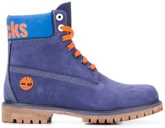 Timberland X NBA New York Knicks boots