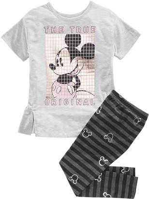 Disney (ディズニー) - Disney Toddler Girls 2-Pc. Mickey Mouse Top & Leggings Set
